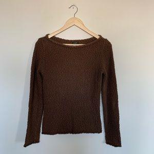 3/19🌽 J Crew Factory Popcorn Boat Neck Sweater